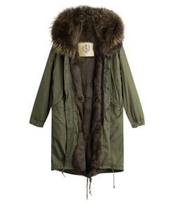 As65 | Parka Coat With Fur Lining Gr. S