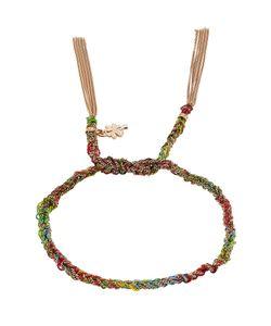 Carolina Bucci | 18 Carat And Silk Woven Tassel Bracelet Gr. One