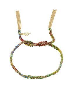 Carolina Bucci | Woven Tassel 18kt Bracelet Gr. One