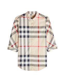 Burberry London | Printed Cotton Shirt Gr. Xs