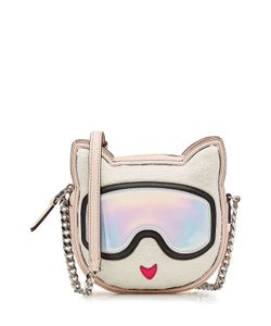 Karl Lagerfeld | Shoulder Bag With Leather Gr. One