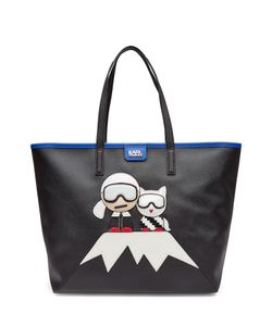 Karl Lagerfeld | Tote With Patches Gr. One