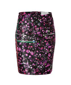 Preen | Wool Blend Mille-Fleur Print Skirt Gr. Xs