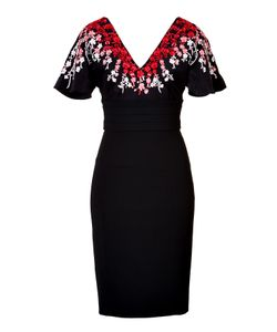 L\'Wren Scott | Embroidered Dress Exclusive Gr. It 40