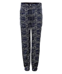 Ostwald Helgason | Pixel Denim Detailed Pants Gr. Uk 12