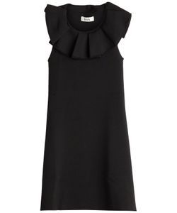 ISSA | Jemmima Dress With Ruffled Front Gr. M