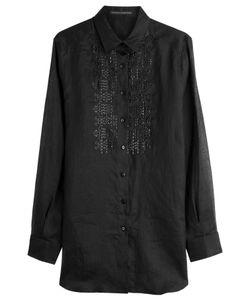 Ermanno Scervino | Embroidered Button-Down Gr. It 48