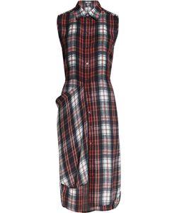 Mcq Alexander Mcqueen | Plaid Silk Shirt Dress Gr. It 34