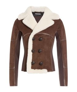 Dsquared2 | Suede Jacket With Shearling Gr. It 40