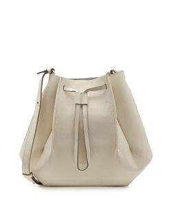 Maison Margiela | Leather Shoulder Bag With Drawstring Gr. One