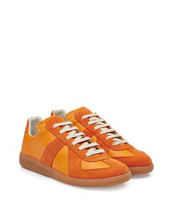 Maison Margiela | Leather And Suede Sneakers Gr. Eu 41