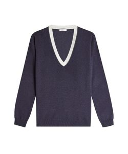 Brunello Cucinelli | Embellished Pullover With Virgin Wool Cashmere And Silk Gr. Xl