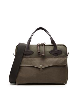 Filson | Original Briefcase Padded Twill Laptop Bag With Leather Gr. One