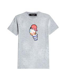 Dsquared2 | Printed Cotton T-Shirt Gr. L