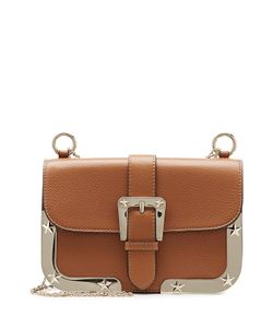 Red Valentino | Leather Shoulder Bag With Tone Frame Gr. One
