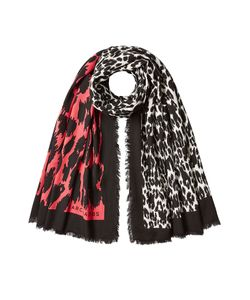 Marc Jacobs   Printed Scarf With Wool Gr. One