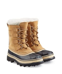 Sorel | Caribou Suede And Rubber Short Boots Gr. Us 6