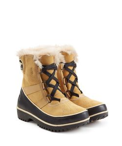 Sorel | Tivoli Ii Suede And Rubber Short Boots Gr. Us 9