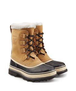 Sorel | Caribou Suede And Rubber Short Boots Gr. Us 8