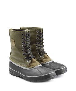 Sorel | Rubber And Fabric Short Boots Gr. Us 9