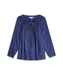 Melissa Odabash | Embroidered Blouse Gr. One