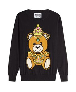 Moschino | Printed Cotton Pullover Gr. Xs