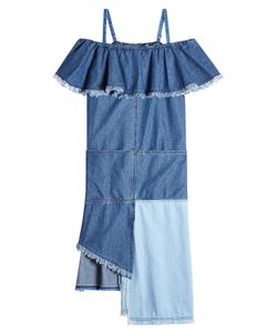 SJYP | Denim Dress With Asymmetric Hemline Gr. S