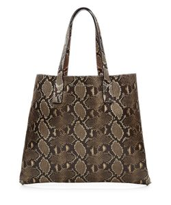 Marc Jacobs | Snake Print Wingman Leather Tote Gr. One