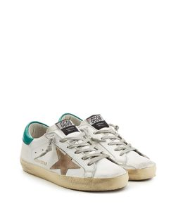 Golden Goose | Super Star Sneakers With Leather Gr. Eu 35