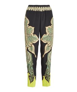 Etro | Printed Pants With Silk Gr. It 42
