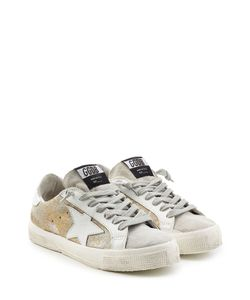 Golden Goose | May Leather And Suede Sneakers Gr. Eu 38