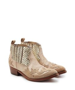 Golden Goose | Victory Ankle Boots With Leather And Suede Gr. Eu 37
