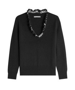 Alexander McQueen | Cashmere Pullover With Ruffle Gr. M