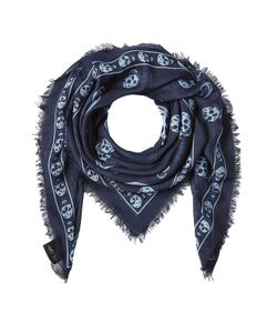 Alexander McQueen | Printed Scarf With Silk Gr. One