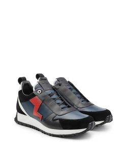 Fendi | Sneakers With Leather And Suede Gr. Uk 6