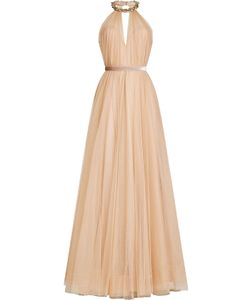 Jenny Packham | Floor Length Gown With Embellishment Gr. Uk 8