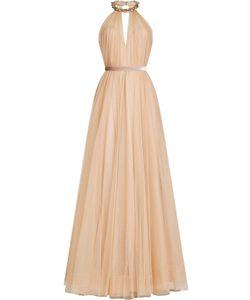 Jenny Packham   Floor Length Gown With Embellishment Gr. Uk 8