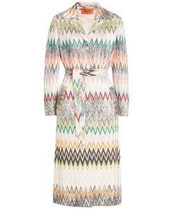 Missoni | Chevron Wool Blend Coat Gr. It 42