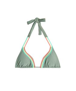 Luli Fama | Strappy Halterneck Bikini Top Gr. M