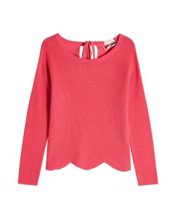 81 Hours by Dear Cashmere | Cashmere Pullover With Scalloped Hem Gr. S