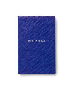 Smythson   Bright Ideas Leather Notebook Gr. One