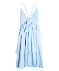 Lala Berlin | Cotton Dress With Ruffles Gr. Xs