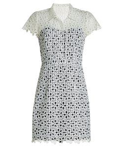 Anna Sui | Printed Eyelet Dress Gr. Us 6