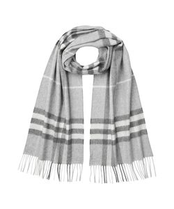 Burberry | Giant Check Cashmere Scarf Gr. One Size
