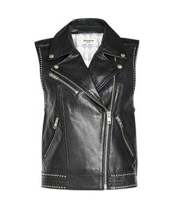 Zadig & Voltaire | Studded Leather Biker Vest Gr. M