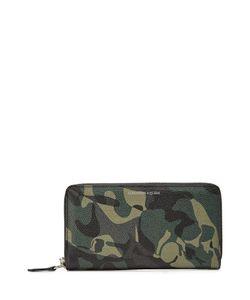 Alexander McQueen | Camouflage Printed Zip Around Wallet Gr. One Size