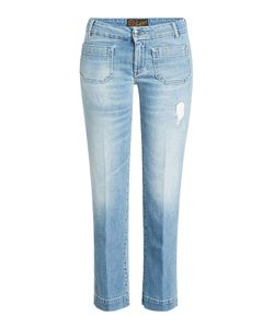 Seafarer | Cropped Jeans With Distressed Detail Gr. 28