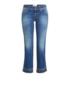 Seafarer   Cropped Jeans With Embroidery Gr. 30