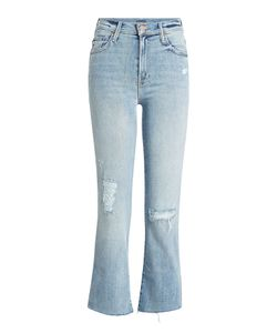 Mother | Cropped Distressed Jeans Gr. 28