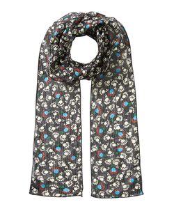 Anna Sui | Printed Silk Chiffon Scarf Gr. One